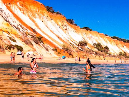 Praia da Falesia SUP